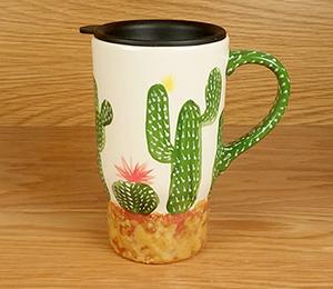 South Miami Cactus Travel Mug