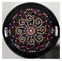 South Miami Mosaic Mandala Tray