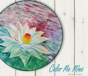 South Miami Lotus Flower Plate