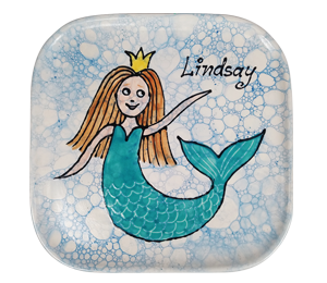 South Miami Mermaid Plate