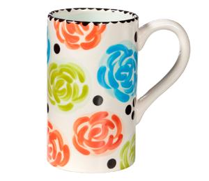 South Miami Simple Floral Mug