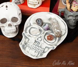 South Miami Vintage Skull Plate