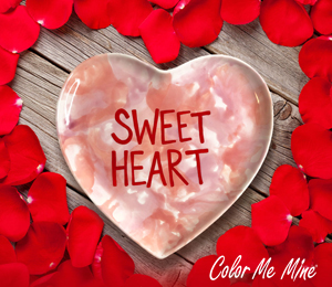 South Miami Candy Heart Plate