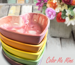 South Miami Candy Heart Bowls
