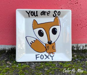South Miami Fox Plate