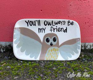 South Miami Owl Plate