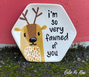 South Miami Fawn Plate