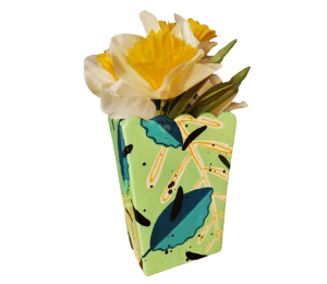 South Miami Leafy Vase