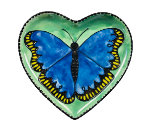 South Miami Butterfly Plate